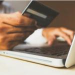 online spending on laptop