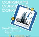 CT Entrepreneur Awards 2021 - Re/Imagine Honorable Mention