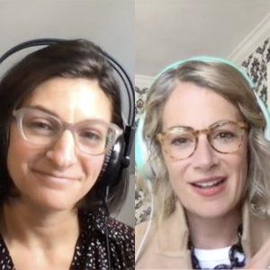 Ellen Last and Maura Rucker